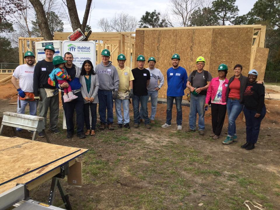 Congregational Church Serve Our Community - Habitat for Humanity